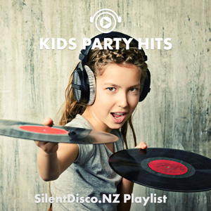 Image link to Kids Party Hits free Spotify Playlist