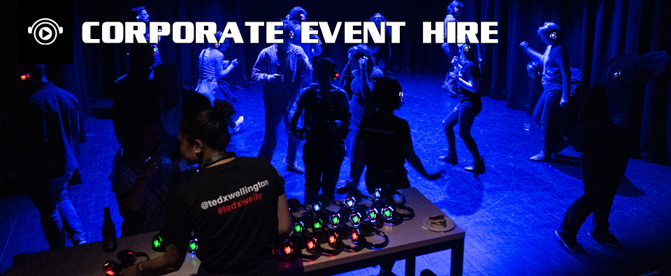 Silent Corporate Event Hire